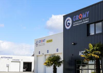 Gromy, carrosserie industrielle et automobile